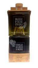 Achat en ligne Set 2 cubes huile olive & vinaigre balsamique 2x250ml