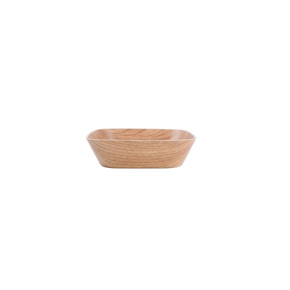 Achat en ligne Coupelle carré en bois 19,5x19,5x5cm