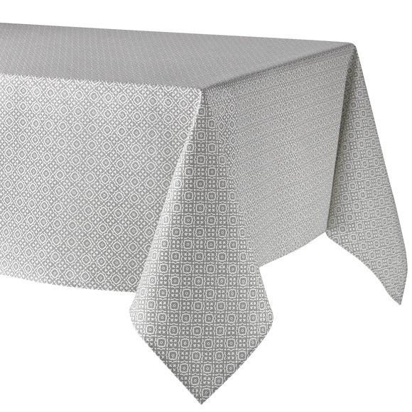 Tovaglia 150 x 200 cm in cotone grigio Delfos