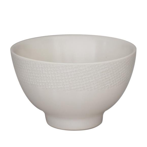 Achat en ligne Mini bol Vesuvio blanc 9,5cm