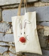 Achat en ligne Tote bag coton blanc 38x42cm 145gr/m2