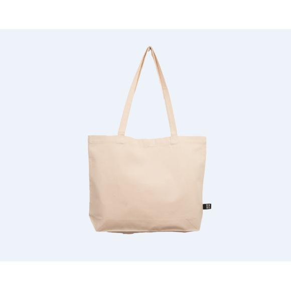RICO - Tote bag sac cabas coton écru 44x33cm Pas cher - Zôdio 2512f768a1a6