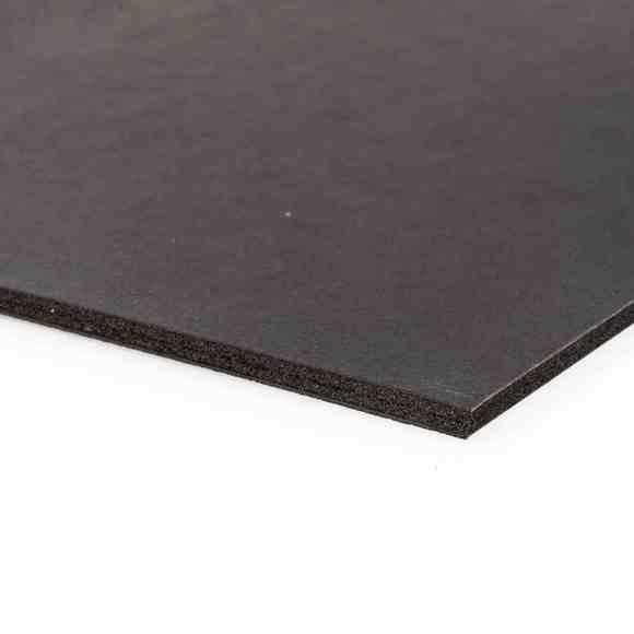 Feuille carton mousse noir 5mm A4