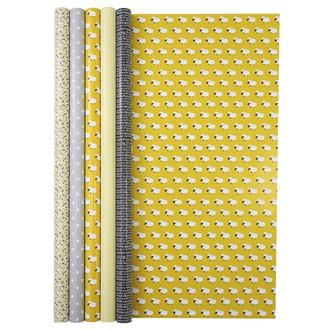 CLAIREFONTAINE - Rouleau papier cadeau moutons 2x0,70m