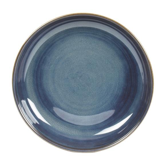 Achat en ligne Assiette creuse Cilaos bleu