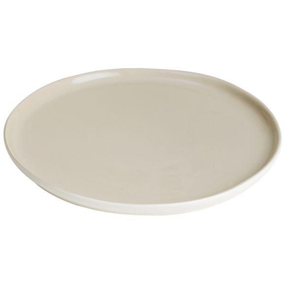 Achat en ligne Assiette plate Oslo lin mat brillant 28cm