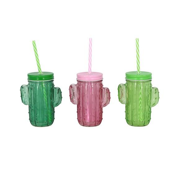 Mug Jar cactus 43cl