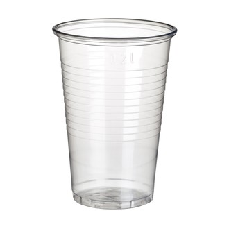 50 gobelets transparent 9,9 cm