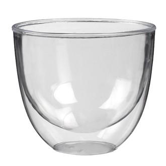 10 verres double paroi transparent 22cl