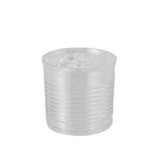 12 boites de conserve transparent 11cl