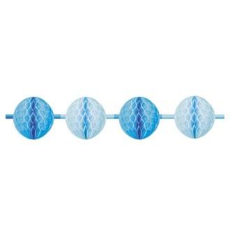 Guirlande rose ou chou bleue 3m