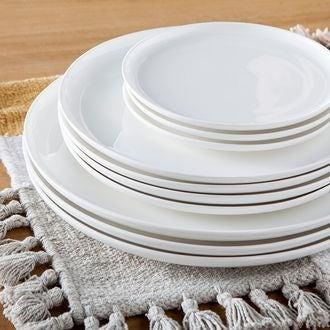 Assiette plate selena 26,5cm