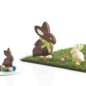 MASTRAD - 6 moules lapins en chocolat (4 petits+ 2 grands)