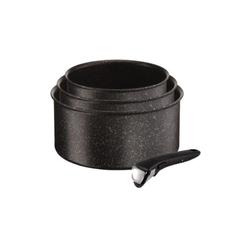 Achat en ligne Lot 3 casseroles Ingenio Authentic 16, 18, 20 cm effet pierre