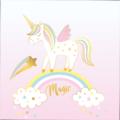 20 serviettes believe in unicorn  33x33cm