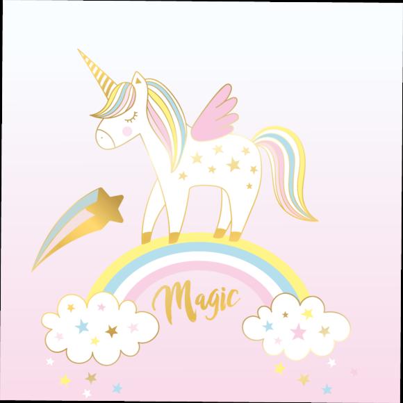 Achat en ligne 20 serviettes believe in unicorn  33x33cm