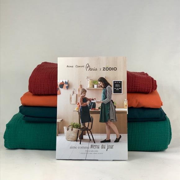 5 patrons couture aime comme menu du jour pas cher z dio. Black Bedroom Furniture Sets. Home Design Ideas
