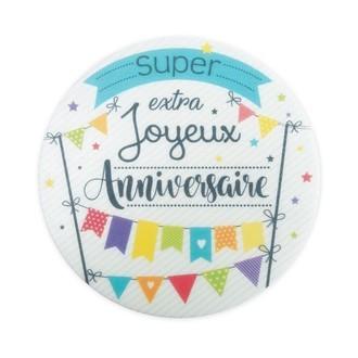 SCRAPCOOKING- Disque azyme Joyeux anniversaire