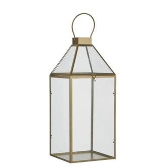 Lanterne alize or l20,5xb19xh46,5cm