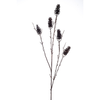 Branche artificielle de pomme de pin ramifiée bronze 93cm