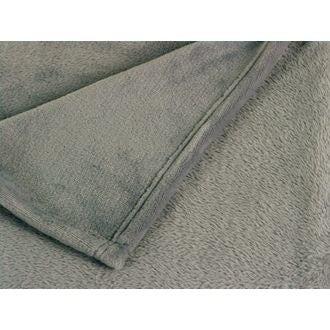 ZODIO- Plaid tout doux XL Castor gris souris 150x200cm