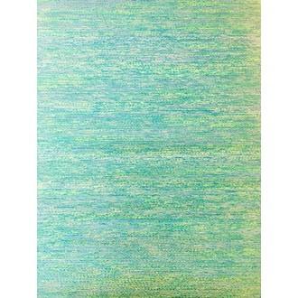 Chemin de table bleu vert