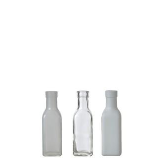 Soliflore blanc cassé assorti h16xd4,5cm