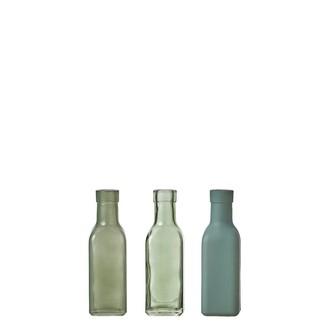 Soliflore vert assorti h16xd4,5cm