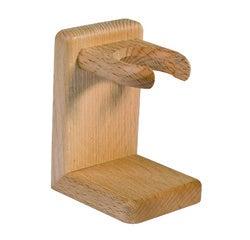 Achat en ligne Porte blaireau en bois de hêtre huilé