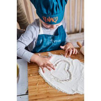 Tablier de cuisine pour enfant renard 55x65cm