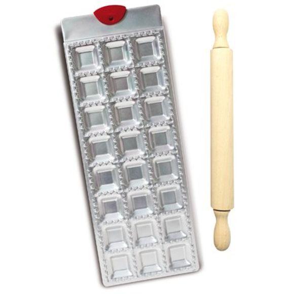 Stampo in alluminio per 24 ravioli