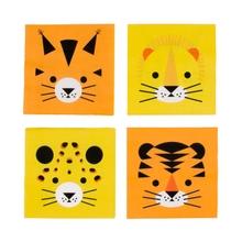 Achat en ligne 20 Serviettes mini felin
