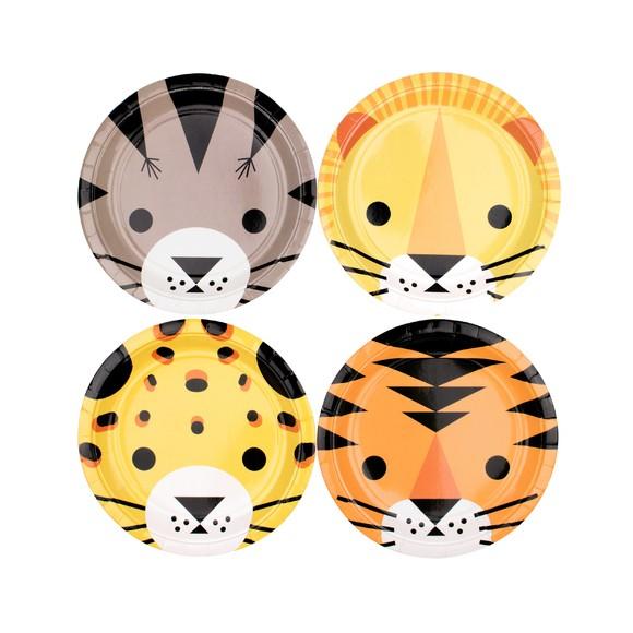 Achat en ligne 8 Assiettes mini felin
