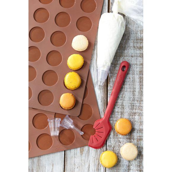 Coffret macaron avec tapis, poche et spatule