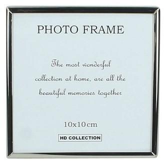 Cadre photo métal argenté - 1 vue insta 10x10