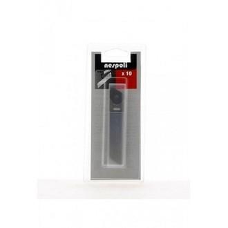 Indispensables - 10 lames de cutter 9mm