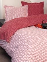 Achat en ligne Housse de couette 240x220cm en coton  Graphiflor rouge cranberry