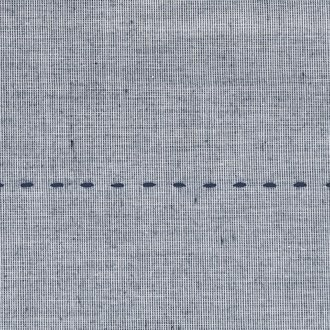 MAOM - Taie d'oreiller carrée fil à fil Skip Blue 65x65cm