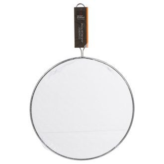 Couvercle grille anti-projection avec manche 29 cm