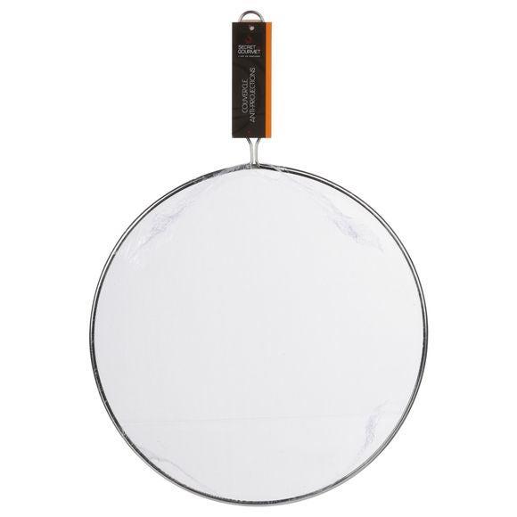 Coperchio antischizzo con maniglia, 33 cm