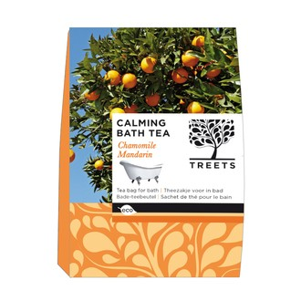 TREETS -  Bôite de 3 sachets de thé pour le bain Camomille et Mandarine