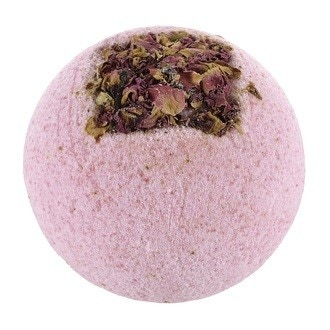 TREETS - Boule de bain effervescente à la rose 170g