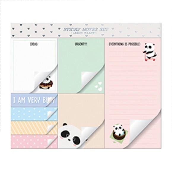 Achat en ligne Lot de 8 blocs notes Panda kawaii