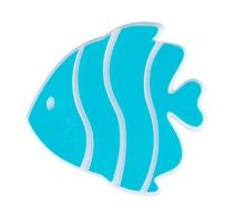 Achat en ligne Set de 5 poissons exotiques antidérapants