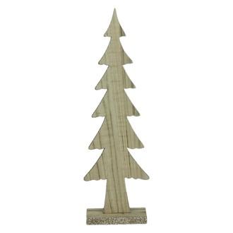 Sapin en bois naturel craft tall