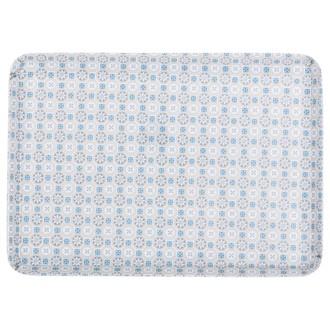 Plateau mosaïque bleu 30x22cm