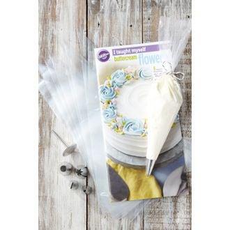 WILTON - Kit poches et douilles fleurs