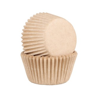 45 caissettes à cupcakes craft compostable