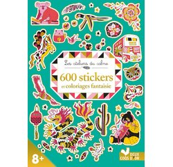 Achat en ligne 600 stikers + coloriages fantaisies