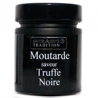 Savor- moutarde truffe noire pot noir 130g